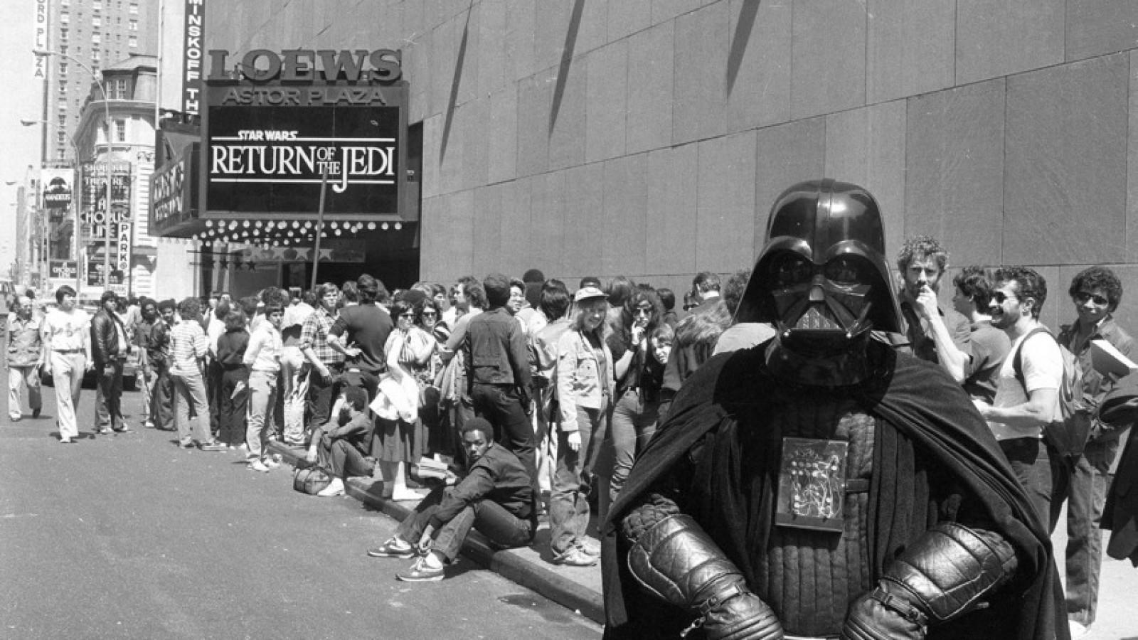 Star Wars, haciendo amigos