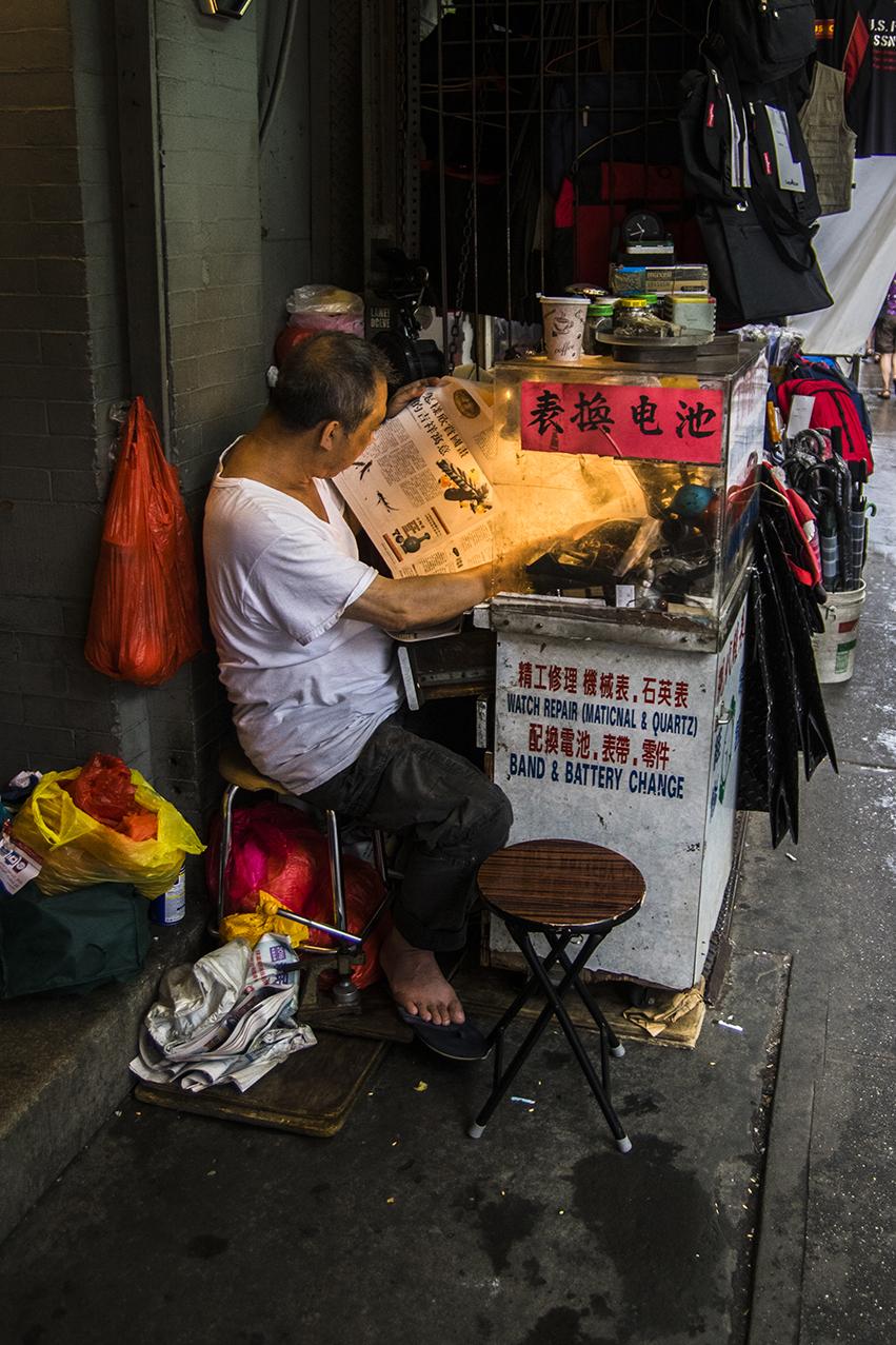 Postales de Nueva York (II): el chino que tiró una merluza al suelo