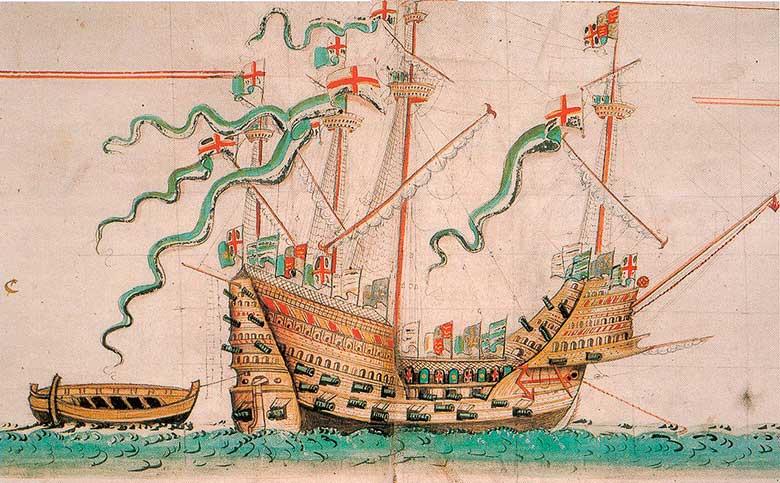 Pifias (I): el día que se hundió el Mary Rose